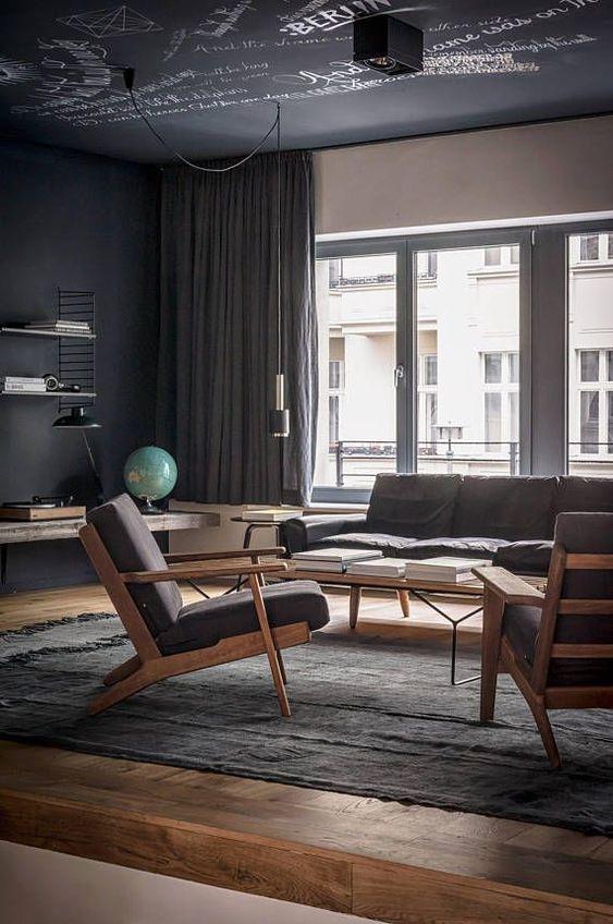 industrial living room 8