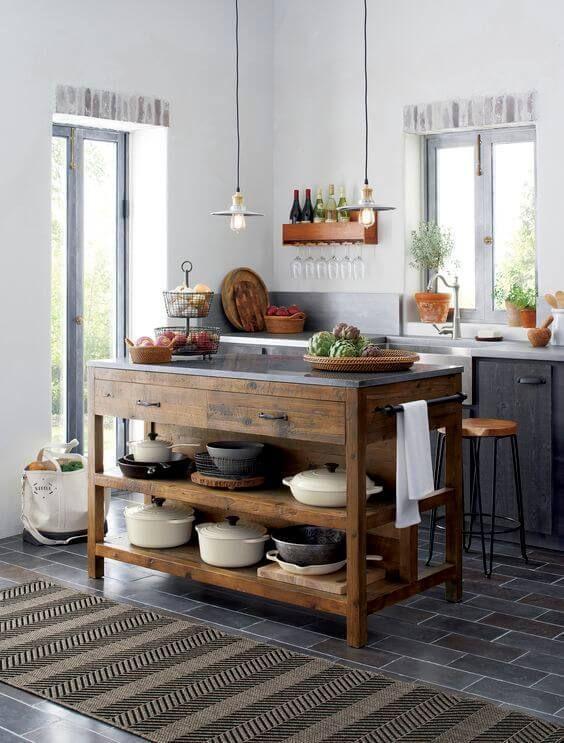 Kitchen Decor Ideas: Warm Neutral Decor