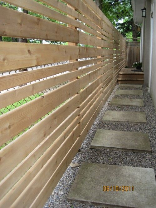 pallet fence ideas 15