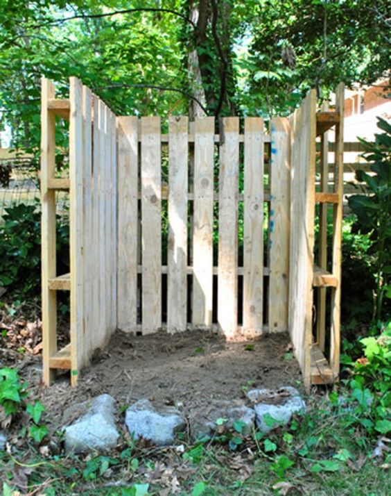 pallet fence ideas 16