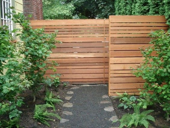 pallet fence ideas 20