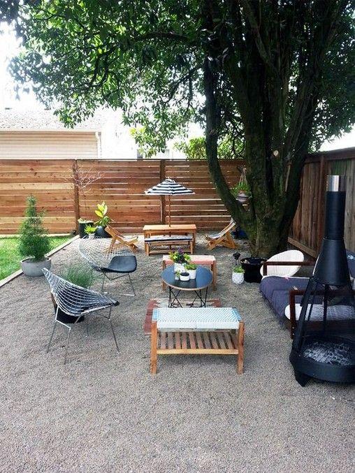 Backyard Decor Ideas: Cozy Cheap Patio