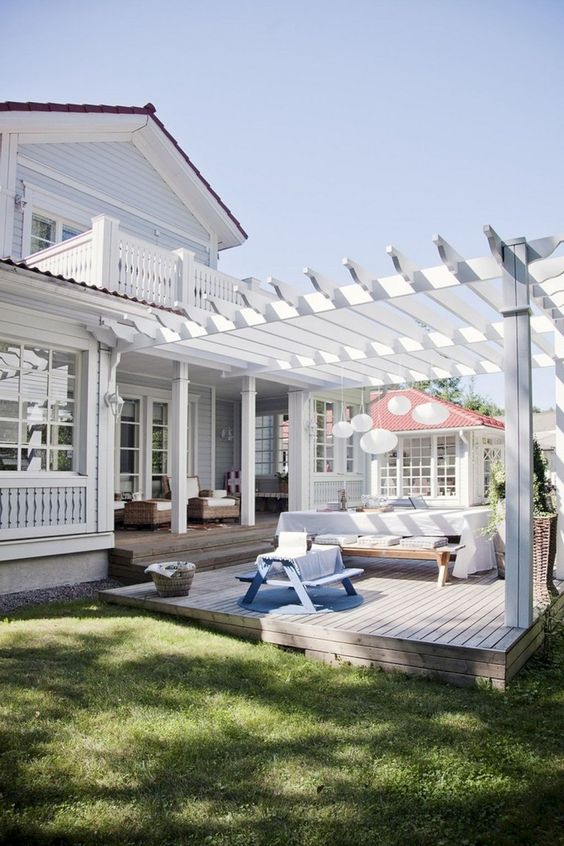 Backyard Pergola Ideas 11