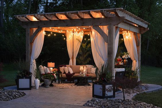 Backyard Pergola Ideas 18