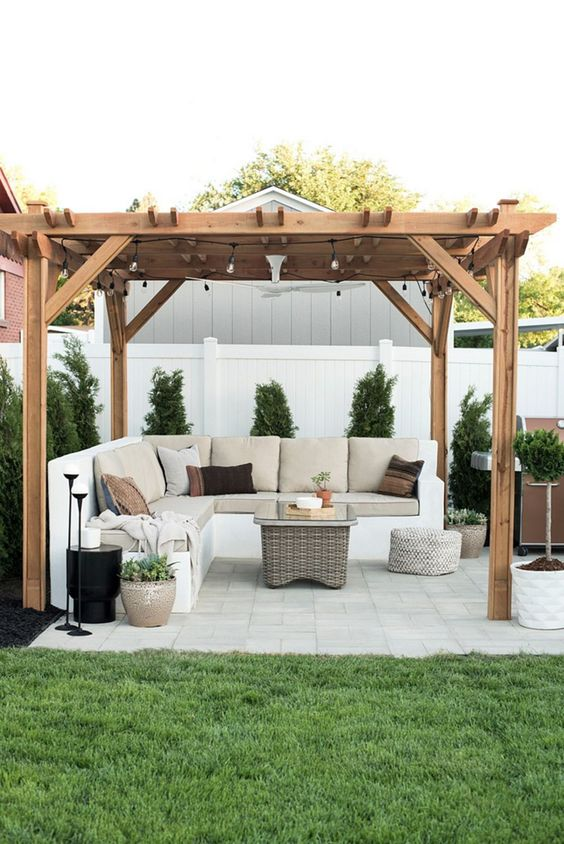 Backyard Pergola Ideas 8