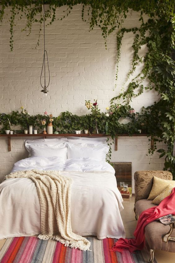 Bedroom Plants Ideas 10