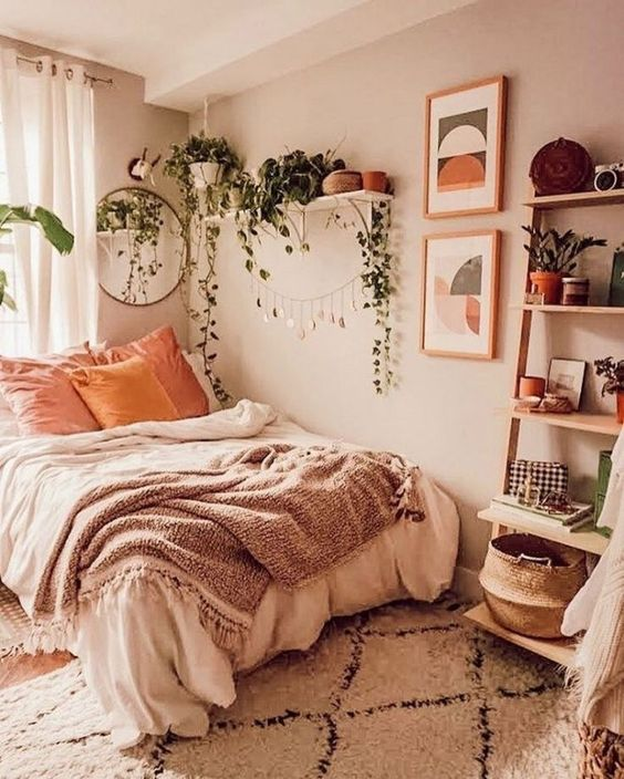 Bedroom Plants Ideas 17