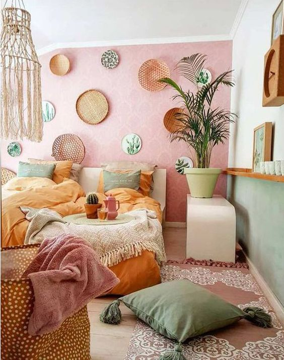 Bedroom Plants Ideas 19