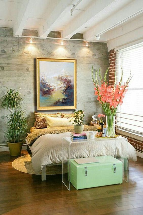 Bedroom Plants Ideas: Beautiful Rustic Decor