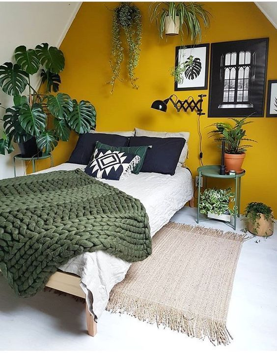 Bedroom Plants Ideas: Attractive Earthy Decor