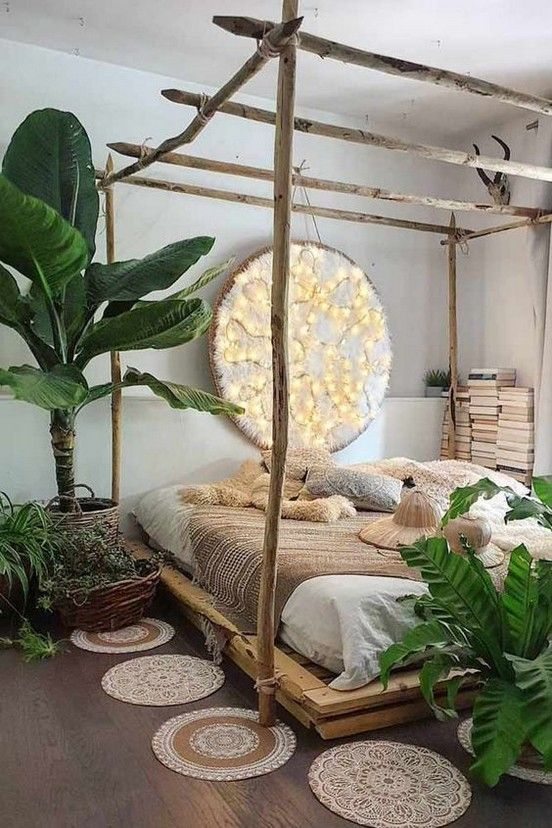 Bedroom Plants Ideas 9