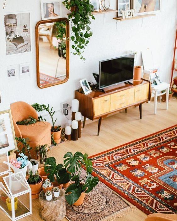 Bohemian Living Room 10