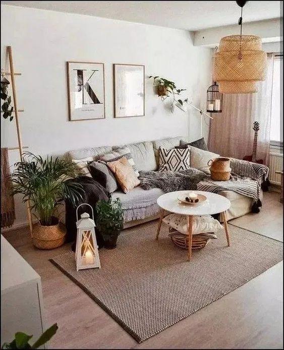 Bohemian Living Room 12