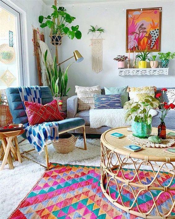 Bohemian Living Room 15