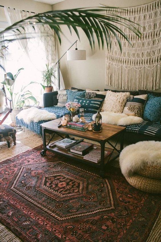 Bohemian Living Room 18