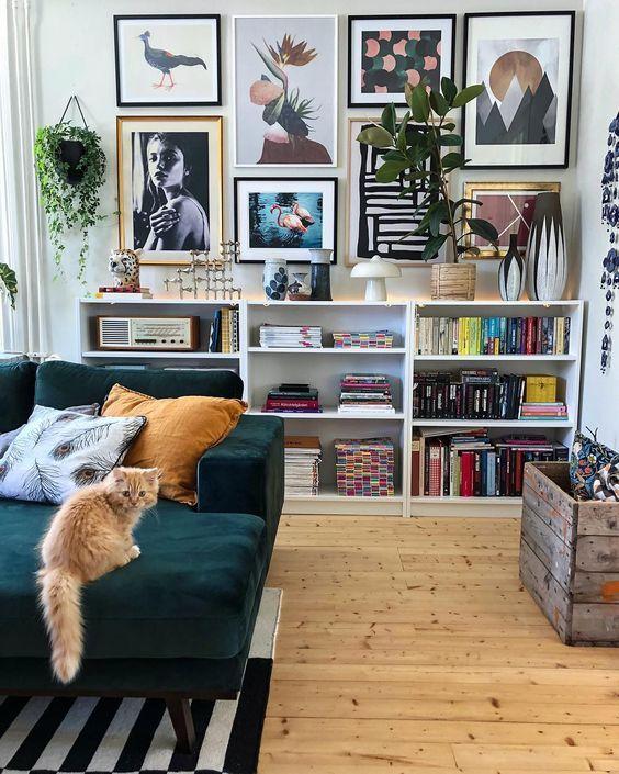 Bohemian Living Room 19