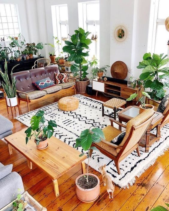 Bohemian Living Room: Enchanting Earthy Decor