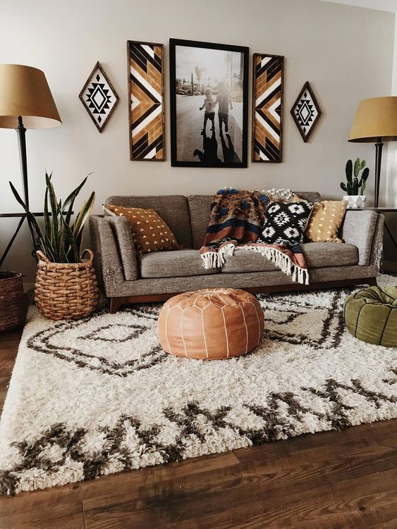 Bohemian Living Room 20