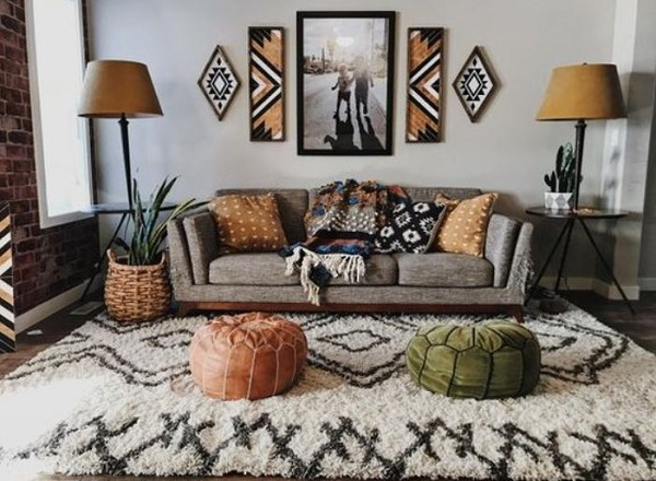 Bohemian Living Room feature