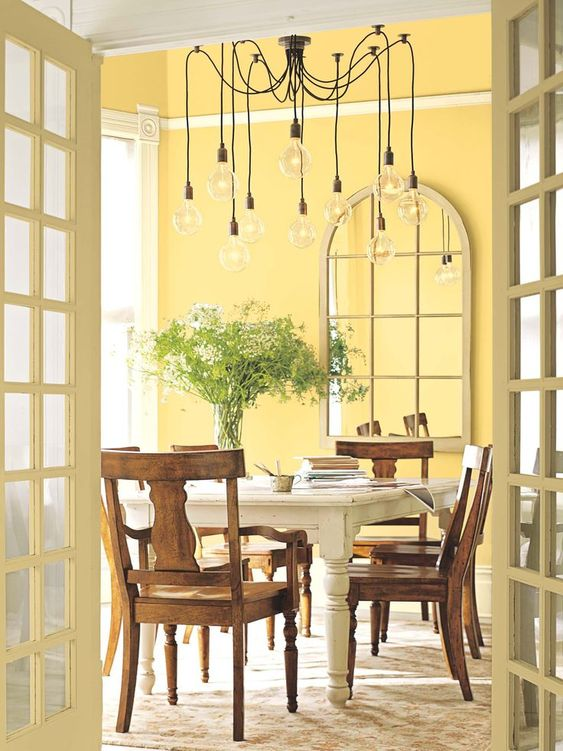 Dining Room Paints: Fresh Cheerful Nuance
