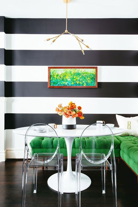 Green Dining Room Ideas 14