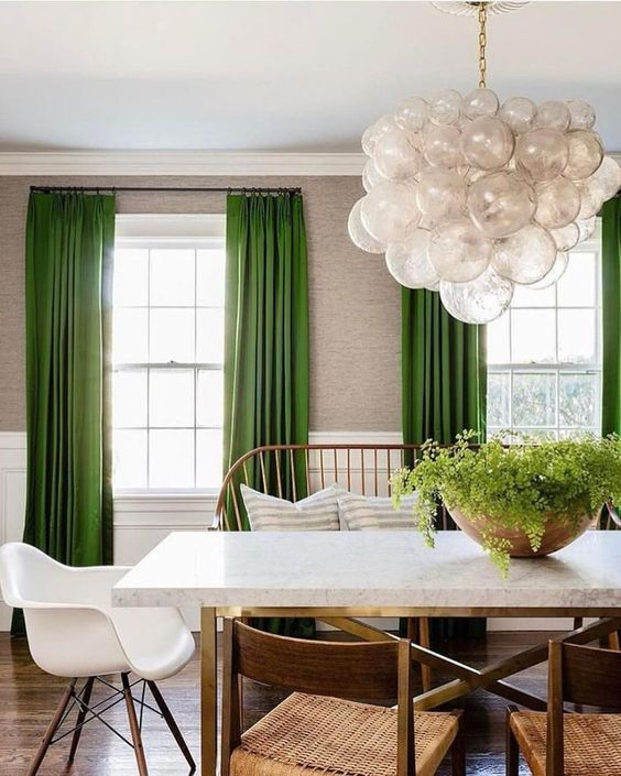 Green Dining Room Ideas: Gorgeous Earthy Decor