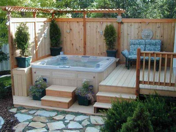 Hot Tub Deck 16