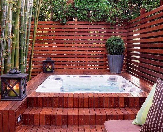 Hot Tub Deck 17