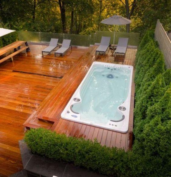 Hot Tub Deck 19