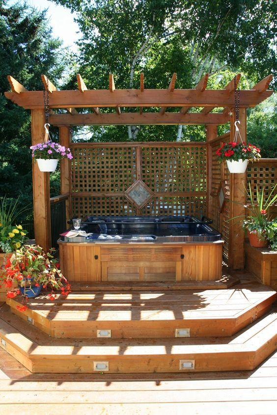 Hot Tub Deck 6
