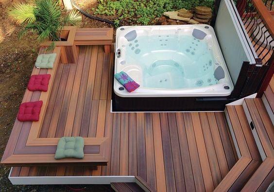 Hot Tub Deck 7