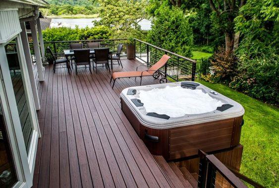 Hot Tub Deck 8
