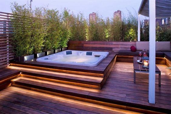 Hot Tub Deck 9
