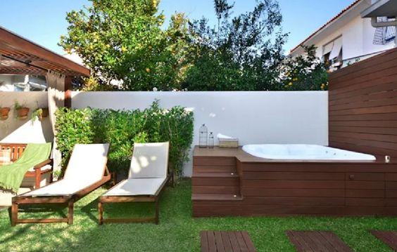 Hot Tub Landscaping 15