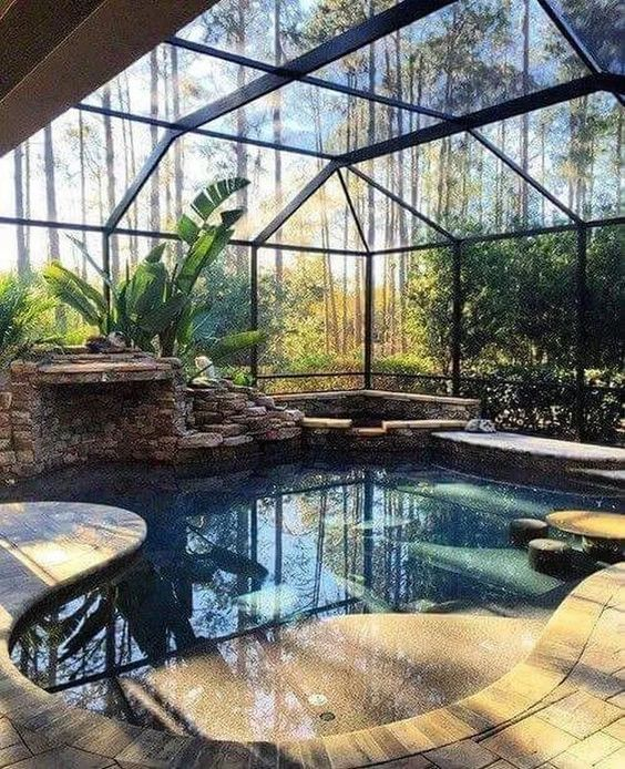 Indoor Swimming Pool Ideas 11