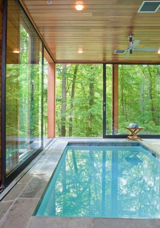 Indoor Swimming Pool Ideas 16