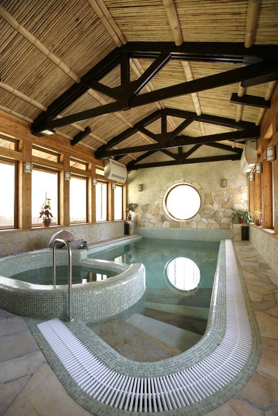 Indoor Swimming Pool Ideas 17