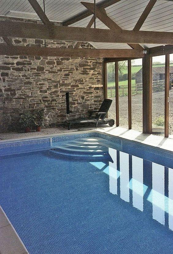 Indoor Swimming Pool Ideas 19