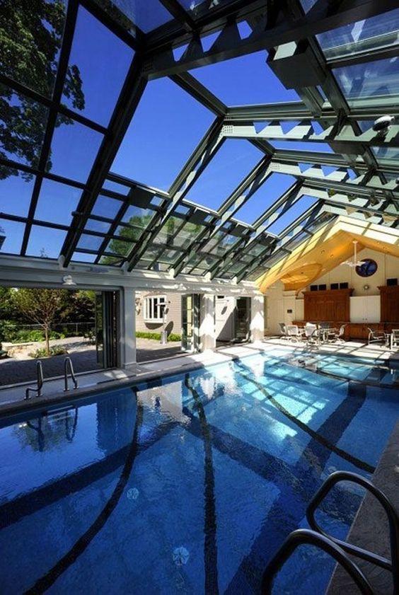 Indoor Swimming Pool Ideas 22
