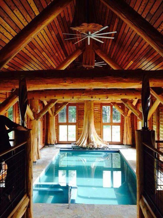 Indoor Swimming Pool Ideas 23