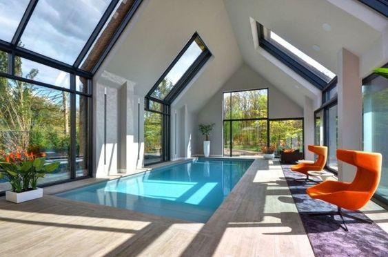 Indoor Swimming Pool Ideas 24