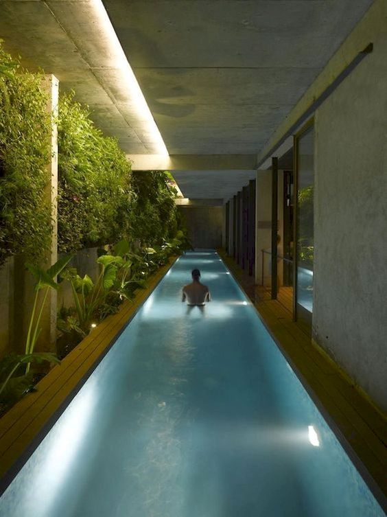 Indoor Swimming Pool Ideas: Outstanding Natural Decor