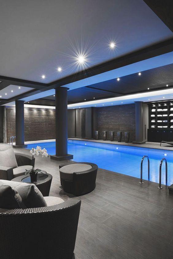 Indoor Swimming Pool Ideas: Captivating Modern Decor