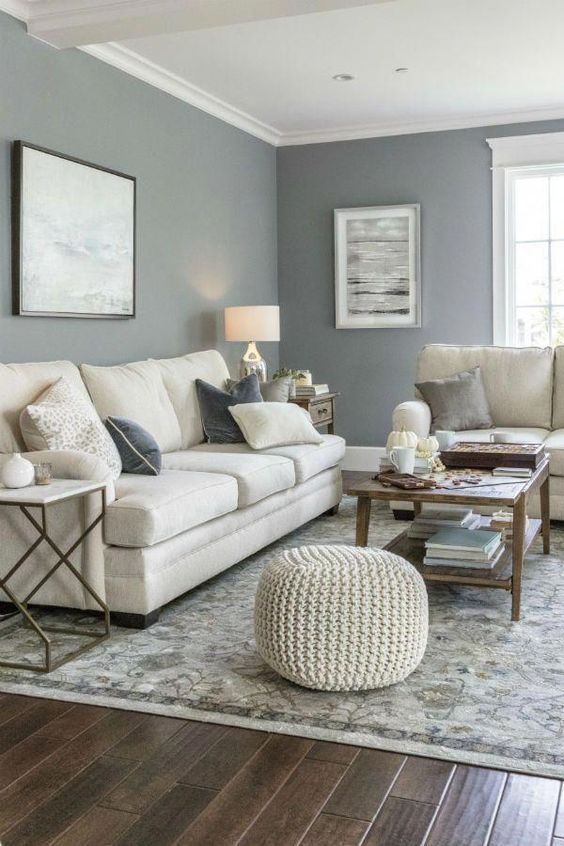 Living Room Colors Ideas: Relaxing Neutral Decor