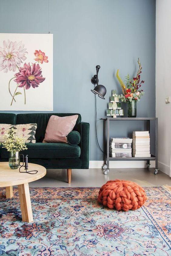 Living Room Colors Ideas: Stylish Soft Decor
