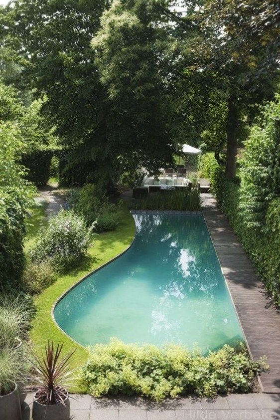 Natural Swimming Pool Ideas 14