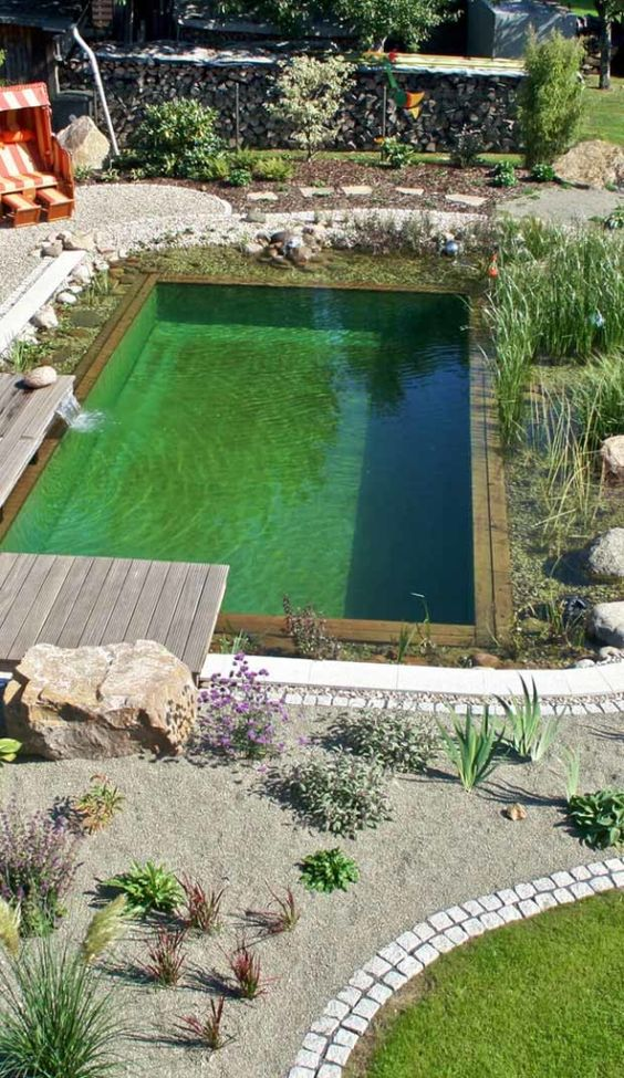 Natural Swimming Pool Ideas 19