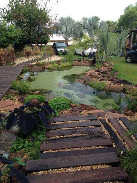 Natural Swimming Pool Ideas 7