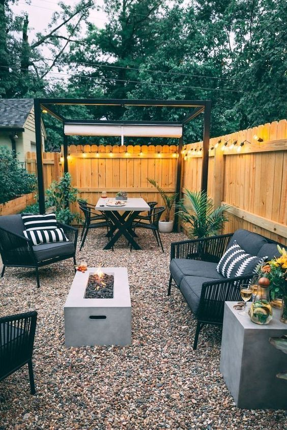 Patio on a Budget Ideas: Chic Small Design