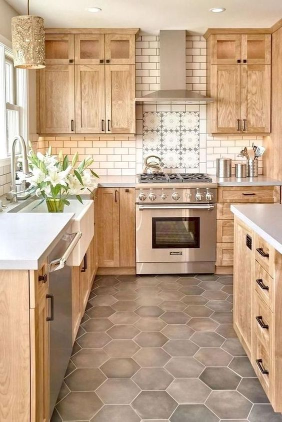 Wood Kitchen Ideas: Modern Rustic Decor